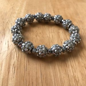 Jewelry - Metallic Silver Color bracelet Retro Disco Trendy